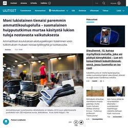 Moni lukiolainen tienaisi paremmin ammattikoulupolulla – suomalainen huippututkimus murtaa käsitystä lukion tuloja nostavasta vaikutuksesta