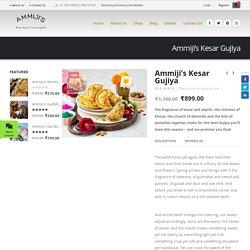Ammiji's Kesar Gujiya