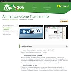 Amministrazione Trasparente per WordPress