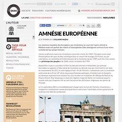 Amnésie européenne » Article » OWNI, Digital Journalism