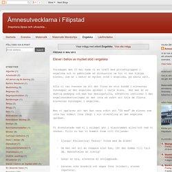 Ämnesutvecklarna i Filipstad: Engelska