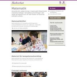 Ämnesutveckling - Matematik
