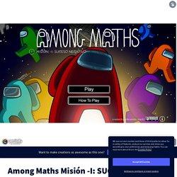Among Maths Misión -I: SUCESO NEGATIVO