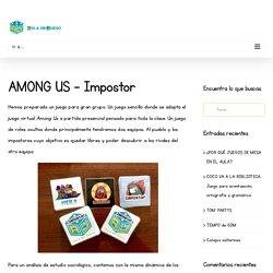 Among us - Impostor - Juego de roles - Aula en Juego