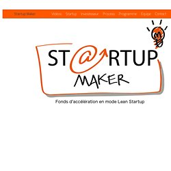 Fonds d'amorçage et accélérateur lean startup