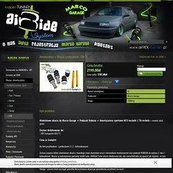 Amortyzatory + Okucia z poduszkami - VW T3 - Komplety na amor. Sport - mapet-TUNING airRIDE-System