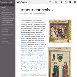 Amour courtois