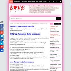 1000 SMS d'amour en darija marocaine
