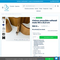 Cloison amovible softwall molo 183 x 23,5 cm — Bluedigo
