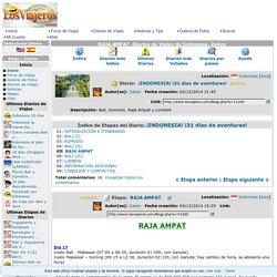 RAJA AMPAT -Diarios de Viajes de Indonesia- Zakex