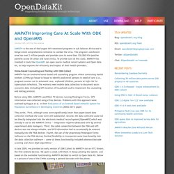 Open Data Kit » AMPATH Improving Care At Scale With ODK and OpenMRS