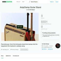 AmpClamp Guitar Stand by Von Saint Design