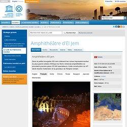 romanisation culturelle en Afrique : Amphithéâtre d'El Jem