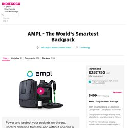 AMPL - The Worlds Smartest Backpack