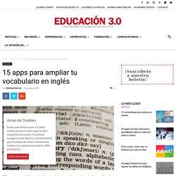 15 apps para ampliar tu vocabulario en inglés