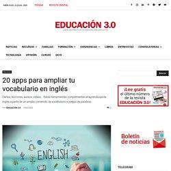 20 apps para ampliar tu vocabulario en inglés