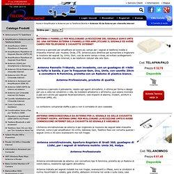 Amplificatori e Antenne per la Telefonia Mobile, Antenne 3G da Esterno per chiavette Internet - TelcomInstrument.com