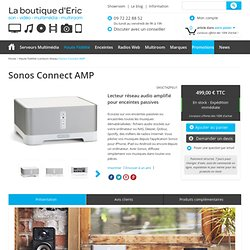 Sonos Connect AMP - Ancien ZonePlayer ZP120