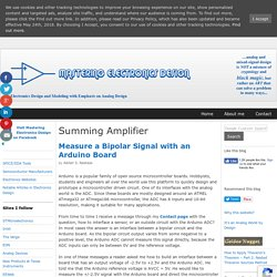 Summing Amplifier – Mastering Electronics Design