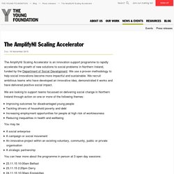 The AmplifyNI Scaling Accelerator