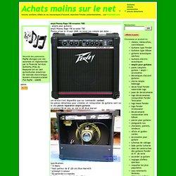 amplis pour guitares - Achats malins sur le net