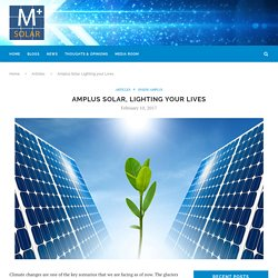 Amplus Solar, Lighting your Lives – Amplus Knowledge Center