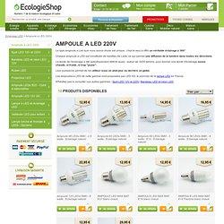 Ampoule à LEDs 220V Eclairage à led