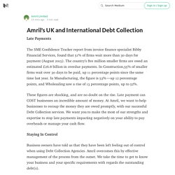 Amril's UK and International Debt Collection