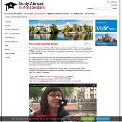 Amsterdam Summer School - Study abroad in Amsterdam