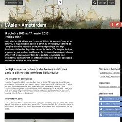 L'Asie > Amsterdam - Tentoonstellingen – voorbij