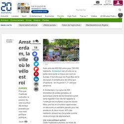 Amsterdam, la ville où le vélo est roi