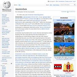 Amsterdam - Wikipedia