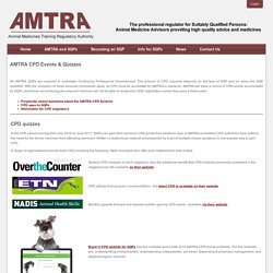 AMTRA CPD Events & Quizzes