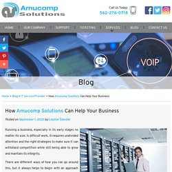 How Amucomp Solutions Can Help Your Business