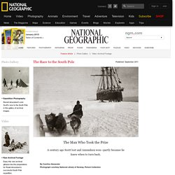 Amundsen, Race to the South Pole