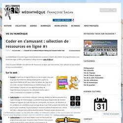 Coder en s'amusant : sélection de ressources en ligne #1