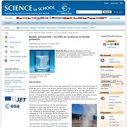 Bulles amusantes : Le CO2 en sciences à l'école primaire