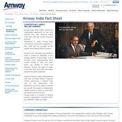 Amway India Factsheet