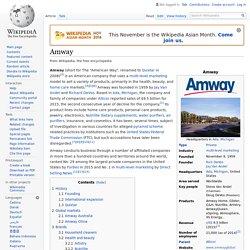 Amway - Wikipedia