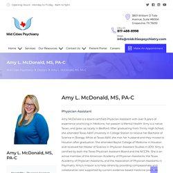Amy L. McDonald, MS, PA-C