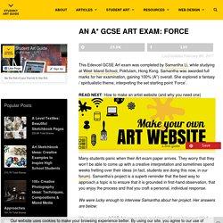 Samantha Li - GCSE Art Exam: Force