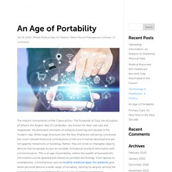 An Age of Portability