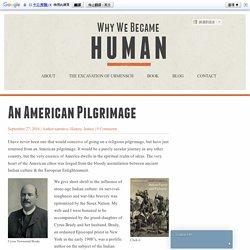 An American Pilgrimage
