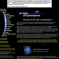 An Atlas of Cyberspaces