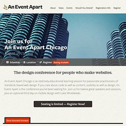 An Event Apart: Chicago 2014