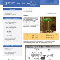 STAT 414 / 415