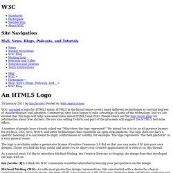 An HTML5 Logo