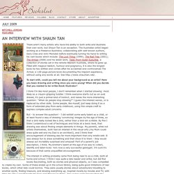 An Interview with Shaun Tan