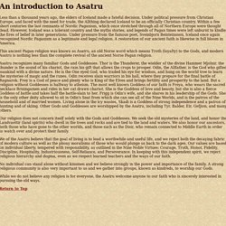 An introduction to Asatru