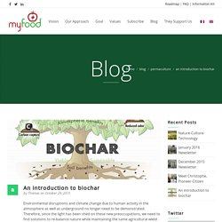 Introduction au biochar